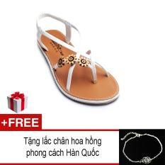 Giày xăng đan nữ cute SD57 + Tặng lắc chân bạc xinh xắn