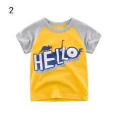 Áo phông cho bé trai mẫu Hello