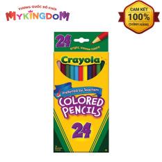 MY KINGDOM – Bút Chì 24 Màu Dạng Dài Crayola 684024