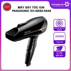 Máy sấy tóc Ion Panasonic EH-NE65-K645 công suất 2000W sản xuất Thái Lan – Hàng chính hãng, bảo hành 12 tháng