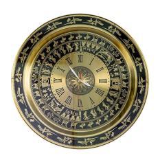 đồng hồ phong thủy 43cm chất liệu đồng nhà sản xuất