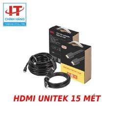 Cáp HDMI 15m hỗ trợ 3D4K x 2K Unitek Y-C143