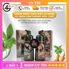 Dầu gội phủ bạc nhân sâm , giúp cải thiện tóc hư tổn và gội cực kỳ thơm, không hại da tay mà tóc vẫn mềm! Đặc biệt là không gây dị ứng, ngứa dát.- ZZ124