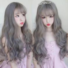 Tóc giả nữ Hàn Quốc + Tặng kèm lưới T132