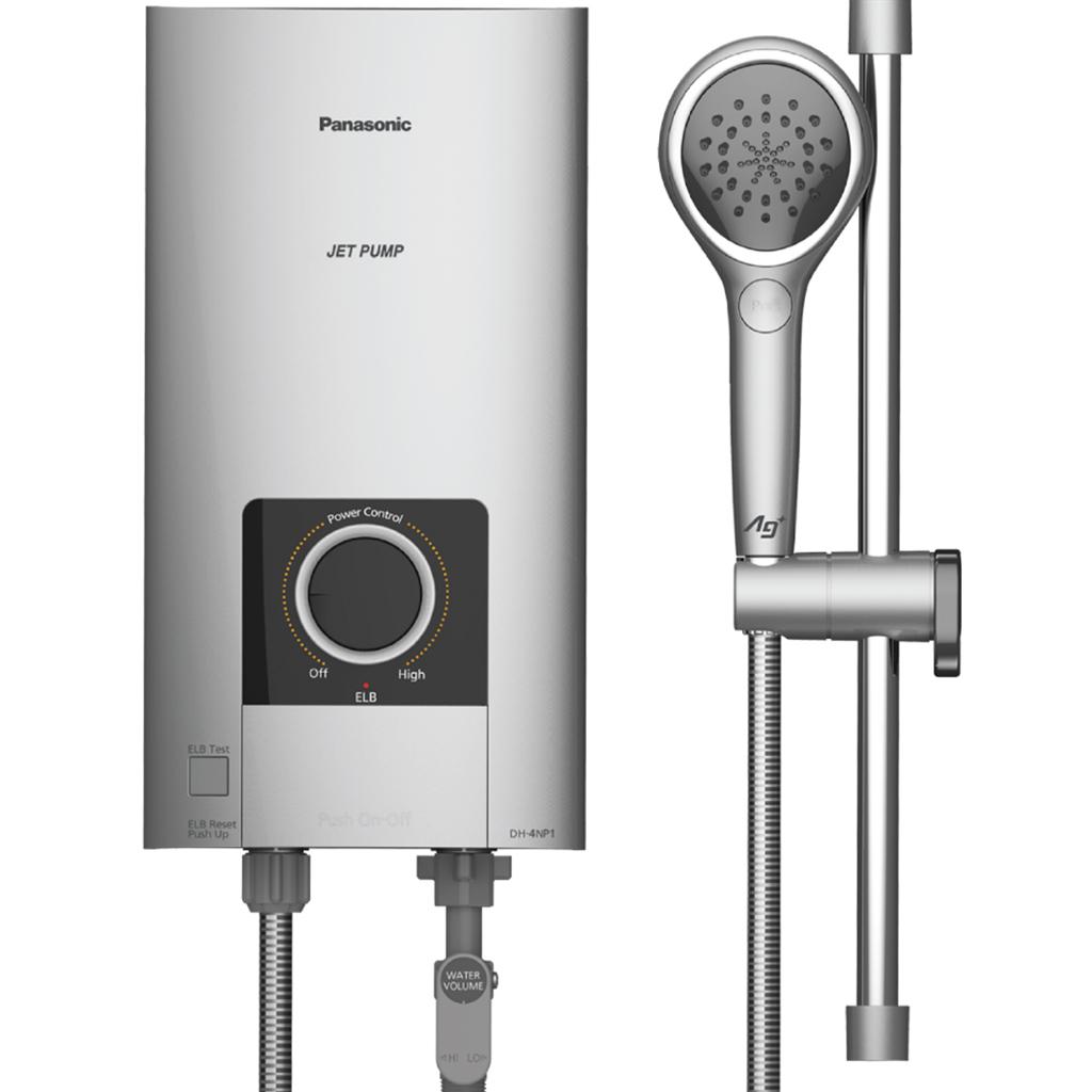[TRẢ GÓP 0%] Máy nước nóng Panasonic DH-4NP1VS - Công suất làm nóng 4500W Làm nóng trực tiếp Nhiệt độ...