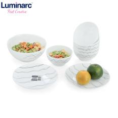Bộ bàn ăn thủy tinh Luminarc Diwali Marble 9 món