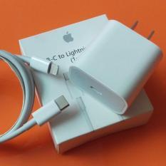 Bộ sạc nhanh 20W dùng cho Pro Max, iPhone 11, iPhone XS Max, iPhone XS, iPhone X, iPhone 8 Plus, iPhone 8 (Adapter sạc nhanh & Cáp type C to Lighning) (Power Delivery 3.0 18W)