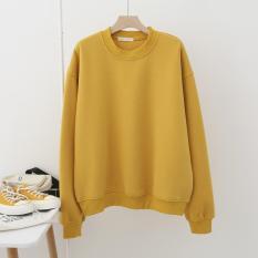 Áo Sweater nam nữ – Sweater nỉ trơn form oversize đẹp-1010
