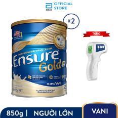 Bộ 02 Lon Ensure Gold 850g + Tặng nhiệt kế Ensure cao cấp trị giá 250.000đ