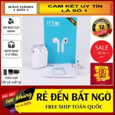 Tai Nghe Bluetooth Không Dây I11 Nút Cảm Ứng , Có Cửa Sổ Kết Nối , Siri Điều Khiển Bằng Giọng Nói – Tai Nghe Bluetooth i11