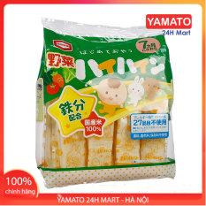 Bánh Gạo Tươi Haihain Vị Rau Củ Nhật Bản Cho Bé Ăn Dặm, Bánh Ăn Dặm Cho Bé, Bánh Gạo Cho Bé, Bánh Gạo Chống Hóc Cho Bé Từ 7 Tháng Tuổi, 8 Tháng, 9 Tháng