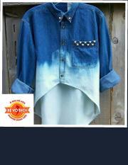 Thuốc nhuộm quần áo màu xanh jean