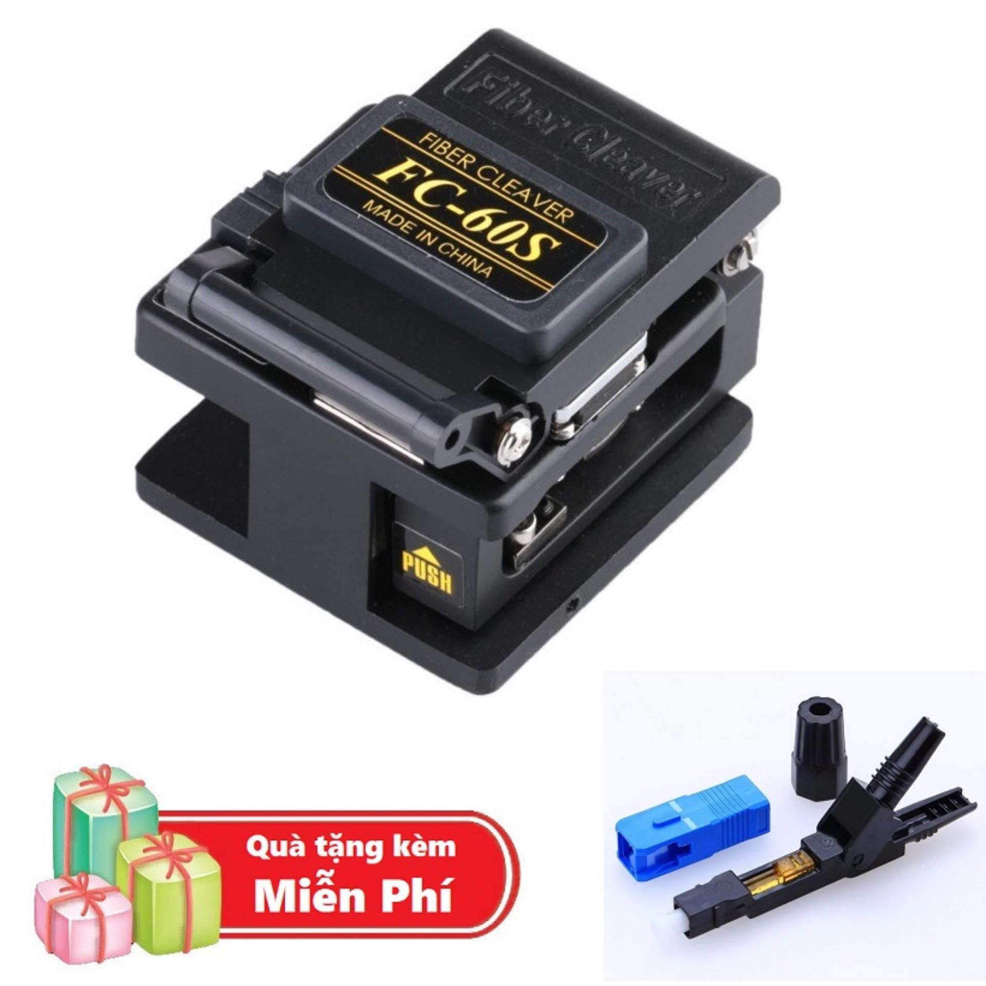 ( Quà tặng Đầu nối quang cao cấp SC/UPC Fast Connector ) Dao cắt sợi quang cao cấp chuyên dùng...