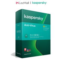 BOX Phần mềm diệt virus Kaspersky AntiVirus 1 Thiết bị/Năm (BOX) – Hàng chính hàng
