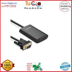Cáp chuyển VGA to HDMI tích hợp Audio Ugreen 40264 chính hãng