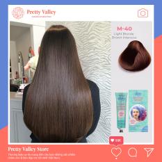 Kem nhuộm tóc cao cấp màu nâu socola Molokai 60ml [ TẶNG KÈM GĂNG TAY + CHAI OXY TRỢ DƯỠNG TÓC ]