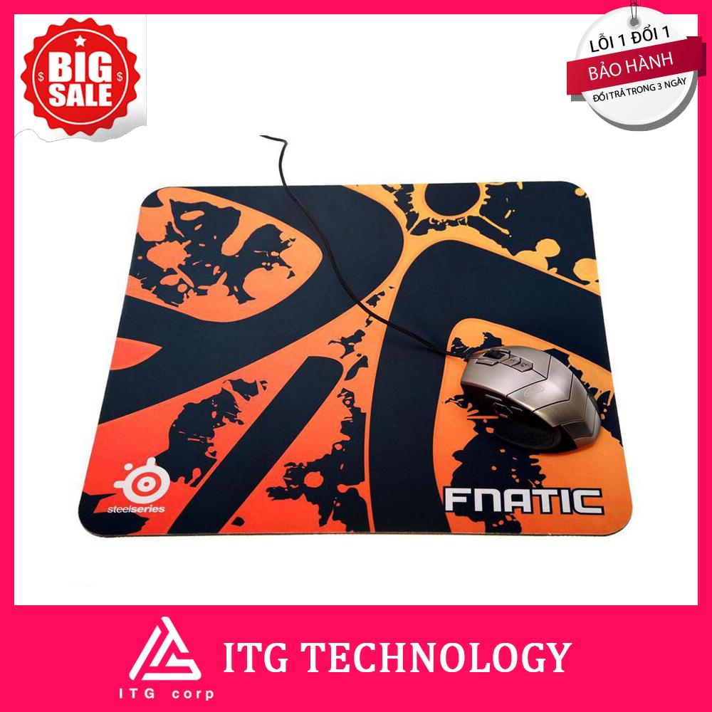 Bàn di chuột SteelSeries QcK+ FNATIC Edition 2 (450x400x4mm)