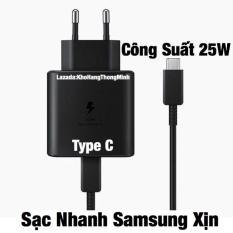 Củ Sạc Nhanh 25W Samsung Xịn Type C