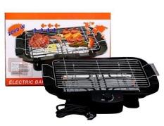 Bếp Nướng Điện Cao Cấp Không Khói Electric Barbecue Grill 2000W, An Toàn Chống Giật,5 Mức Điều Chỉnh Nhiệt. Phù Hợp Với Mọi Không Gian, Trong Gia Đình Hay Những Buổi Tiệc Ngoài Trời -Bảo Hành 12 Tháng