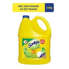 Nước Rửa Chén Sunlight Chanh Can 3.8kg