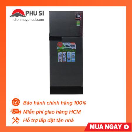 TRẢ GÓP 0% – BẢO HÀNH 1 NĂM – Tủ lạnh Sharp Inverter 150 lít SJ-X176E-DSS
