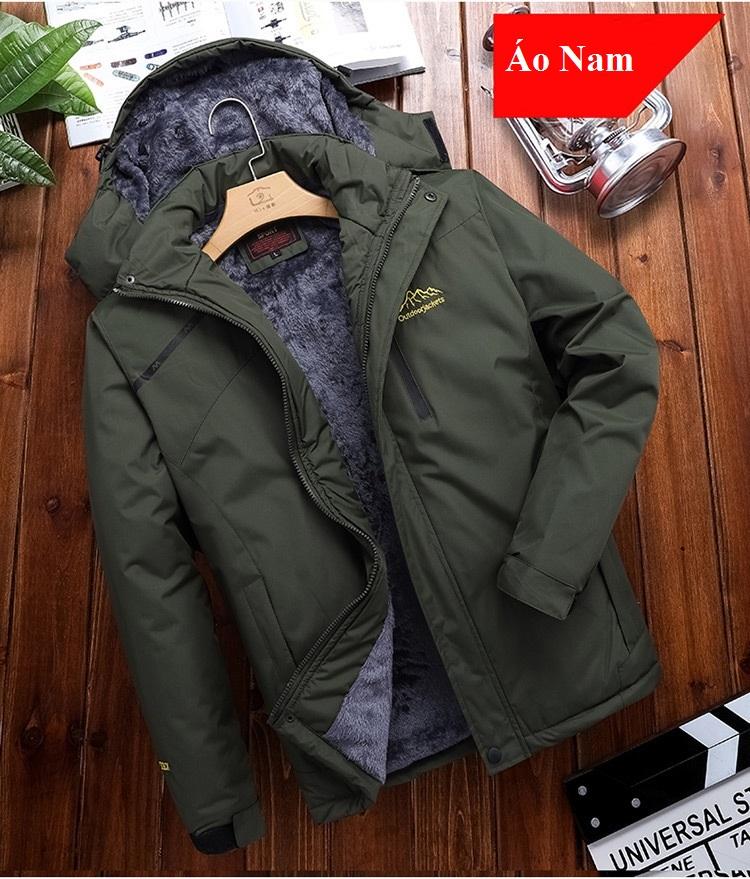 Áo khoác nam nữ chống NƯỚC [3 lớp lót lông], chuẩn hiệu OUTDOOR, áo khoác đẹp 2020, áo rét nam...
