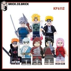 KF6112 – Naruto Phiên Bản Mới – Mitsuki Gaara Pain – Đồ Chơi Lắp Ráp Minifigures Và Non Lego Manga Anime