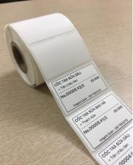 Cuộn Giấy in tem Trà Sữa 50x30mm – 1 cuộn