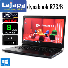 Toshiba Dynabook R73/B Máy tính xách tay LAJAPA-Laptop Nhật Bản , laptop mỏng nhẹ đẹp, laptop core i5