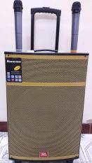 Loa kéo JBL Bass 40 Vàng Gold cao cấp + Tặng kèm 02 Micro không dây