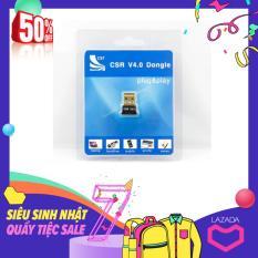 USB bluetooth cho PC- USB Bluetooth CSR 4.0 Dongle (Đen)