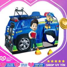 Nhà bóng xe cảnh sát cho bé cho bé HF088-A – nhà banh, quây bóng, do choi tre em