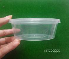 10 Hộp dẹp 250 ml đựng slime, thực phẩm