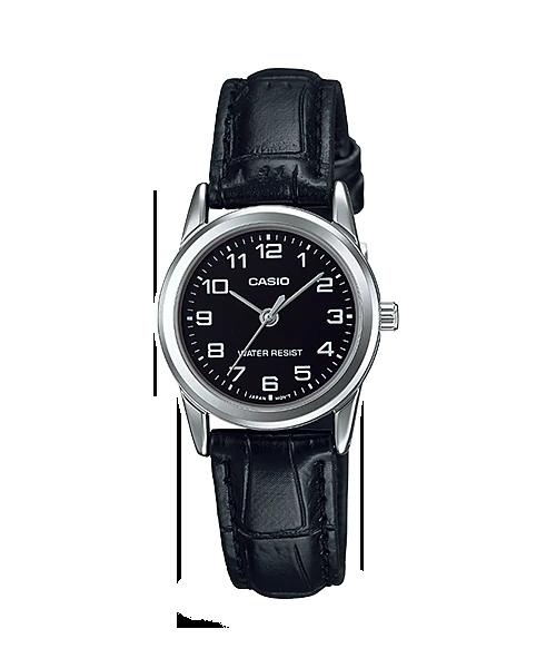 Đồng hồ Casio Nữ LTP-V001L-1B chính hãng giá rẻ – Bảo hành 1 năm – Pin trọn đời