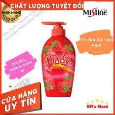 Sữa Tắm Gội Cho Bé MISTINE KIDDY 400ml Mùi Dâu + Tặng Kèm Khăn Mặt – TiVa Mart