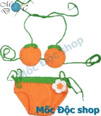 Bikini len trái cam cho bé gái 3-20 kg