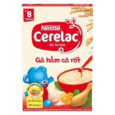 Bột Ăn Dặm Nestle Cerelac – Gà Hầm Cà Rốt (200g)