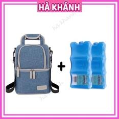 Túi giữ nhiệt cao cấp Vcool TGN01 + 2 Đá khô thanh bảo quản sữa