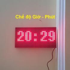 Đồng hồ Led Matrix, Led P10 siêu to khổng lồ – Treo tường, để bàn