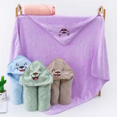 Chăn choàng, chăn ủ lông tuyết cho bé sơ sinh cao cấp xuất Nhật kích thước 90cm x 90cm