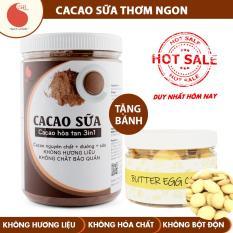 Bột cacao sữa đậm đà thơm ngon, đặc biệt không pha trộn hương liệu – Light Cacao – hũ 550g