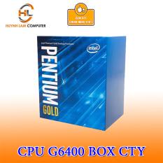 CPU Intel Pentium G6400 4.0GHz 4MB cache socket 1200 Hàng Box Ty