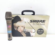 Micro có dây karaoke SHURE SM-78A cao cấp ( Nâu )
