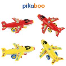 Đồ chơi máy bay trẻ em Pikaboo, chất liệu cao cấp an toàn, xe chạy đà trơn tru