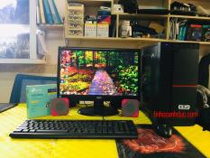 Bộ máy AD2L19 + Màn hình LCD 19 văn phòng mượt tặng phím chuột USB WIFI VÀO MẠNG KHÔNG DÂY LOA NGHE NHẠC CỰC ĐÃ