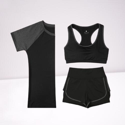 Combo bộ quần áo tập Gym dànnh cho nữ chất liệu Polyester