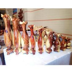 Lục bình 9 món gỗ cẩm
