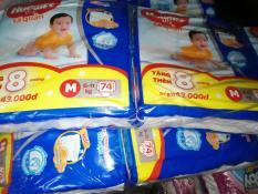 Gói Tã Quần Huggies Dry Gói Cực Đại M74, L68, XL62, XXL56- Tặng thêm 8 miếng cùng size