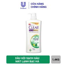 Clear Mát Lạnh Bạc Hà Dầu Gội Sạch Gàu 1.4kg