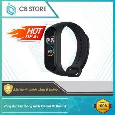 Vòng đeo tay thông minh theo dõi sức khỏe Xiaomi Mi Band 4 / Đồng hồ thông minh mi band 4 – Có Tiếng Việt